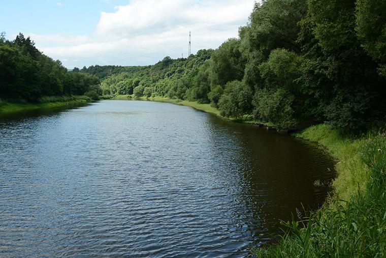 Flusstal Eger