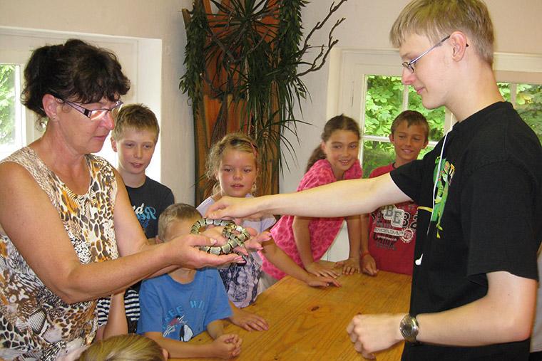 Führung im Jugend-Öko-Haus