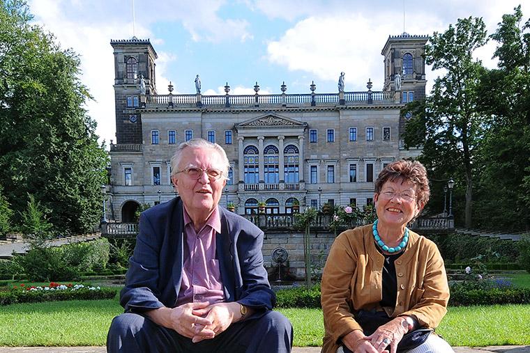 Helga Siemens und Fritz Jürgen Obst
