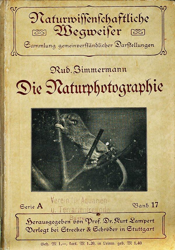 Buch Die Naturphotographie