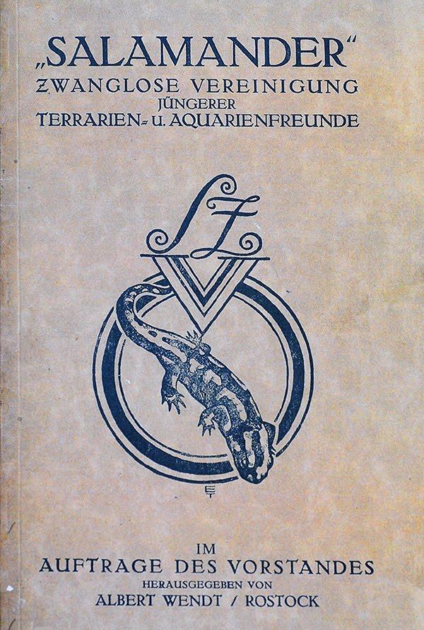 historische Vereinszeitschrift Salamander