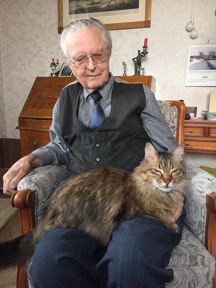 Geburtstagsbesuch bei Prof. Fritz-Jürgen Obst