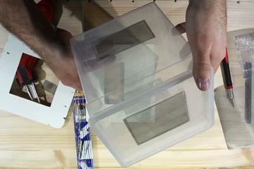 Vorschaubild Praxistipp Kunststoffbox mit Gaze versehen