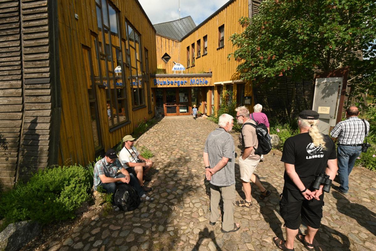 Vor der Blumberger Mühle